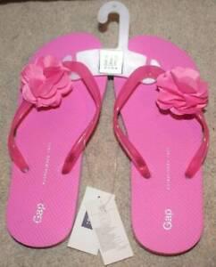Kids Flower Flip Flops Flat Beach Sandal Style Thongs Flats Junior Girls Sandals