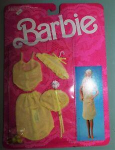 POUPEE-BARBIE-VETEMENT-NEUF-DE-1986-LINGERIE-PRET-A-PORTER-FASHION-ref-3183