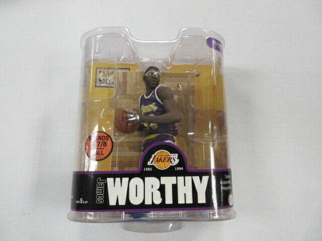 MCFARLANE NBA LEGENDS JAMES WORTHY LAKERS VARIANT FIGURE SEALED