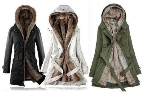 2017NEW Femmes Épaissir Manteau D hiver Chaud Capuche Parka Manteau Long Veste Outwear