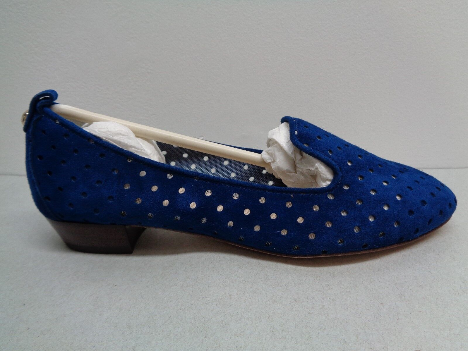 Vince Camuto Signature Größe 6 M New NADELLE Blau Suede Loafers New M Damenschuhe Schuhes d8e871