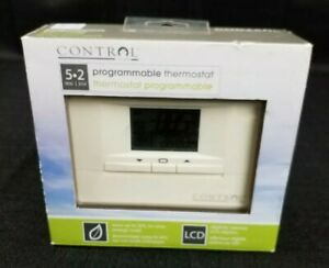 programmable-thermostat-Control-by-Canarm-M6003-5-2-Day-New