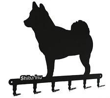 Schlüsselbrett Shiba Inu - design Hunde Hakenleiste, Schlüssel, Metall, 6 Haken