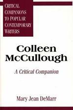 Colleen McCullough: A Critical Companion (Critical Companions to-ExLibrary