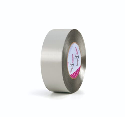 Aluminium-Klebeband nicht brennbar scherfest hitzebeständig 50 75 100 mm