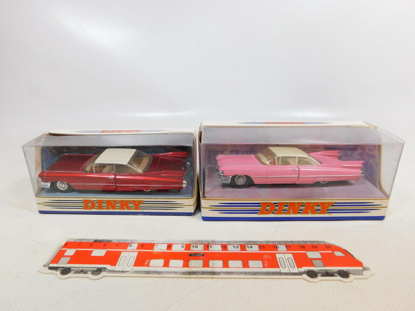 CD311-1 x Matchbox Dinky 1 43 Cadillac Coupe Ville 1959  DY-7 +DY7-B Mint+Box