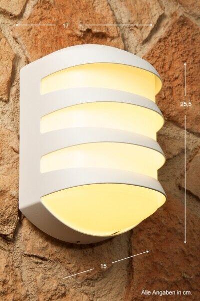Diseño lámpara de parojo lámpara externas blancoo aussenwandleuchte aussenlampe nuevo