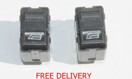 2 X FOR AUDI 80A4 A6 Electric Power Window  Switch Older Button Two  New Buttons