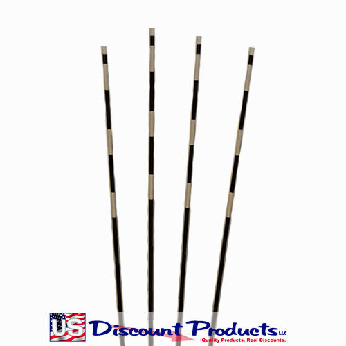 8/' Fiberglass 6/' 4/' 5/' Pkg of 50 Snow Plow Stakes Driveway Markers