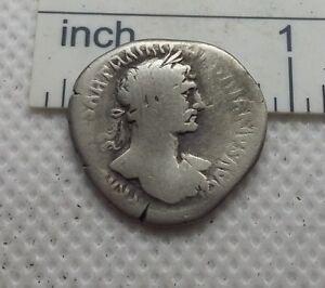 Original-Ancient-ROMAN-COIN-SILVER-denarius-Hadrianus-Hadrian-117-138-AD-519