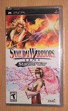 Samurai Warriors State of War (PlayStation Portable / PSP) NEW - Koei Video Game