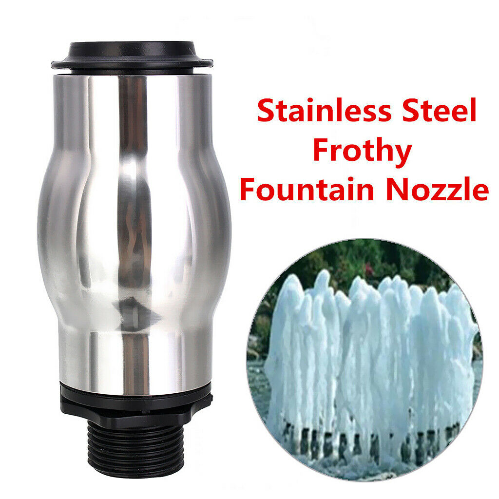 1 Pieces Durable Stainless Steel Fountain Nozzle Spray Head DN25 60-180Kpa