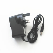 UK 3 Pin Plug 7.5V 500mA 0.5A Adaptor Power Supply Adapter Cord 5.5mm x 2.5mm