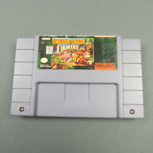 Donkey-Kong-Country-Working-Save-Authentic-Tested-SNES-Super-Nintendo