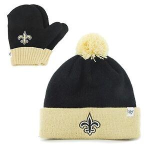 c3b351ef46595 New Orleans Saints - Logo Bam Bam Toddler Pom Pom Beanie Knit Hat ...