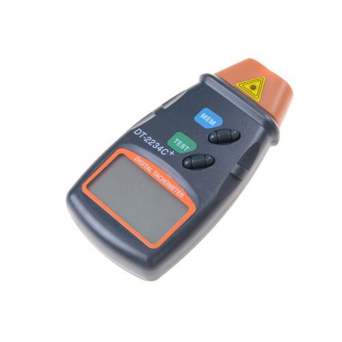 Nouveau Numérique Laser Photo Tachymètre Sans Contact RPM Tach Mètre Moteur DI