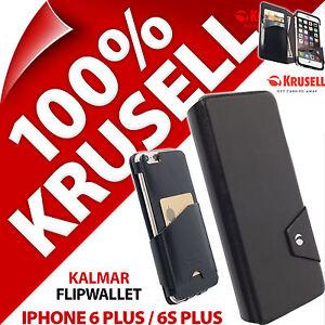 Krusell-Kalmar-FlipWallet-Cuir-Synthetique-etui-pour-Apple-iPhone-6-Plus-6S-plus