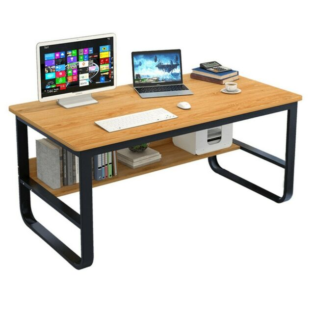 Bush Series A Office Workstation Desk, White Spectrum