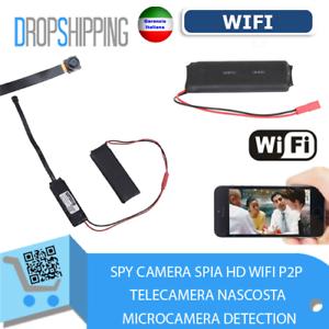SPY-CAMERA-SPIA-HD-WIFI-P2P-TELECAMERA-NASCOSTA-MICROCAMERA-DETECTION