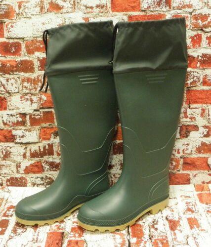 40 bis 46 zur Auswahl Gummistiefel  Stiefel Höhe 50 cm Regenstiefel Grün Gr