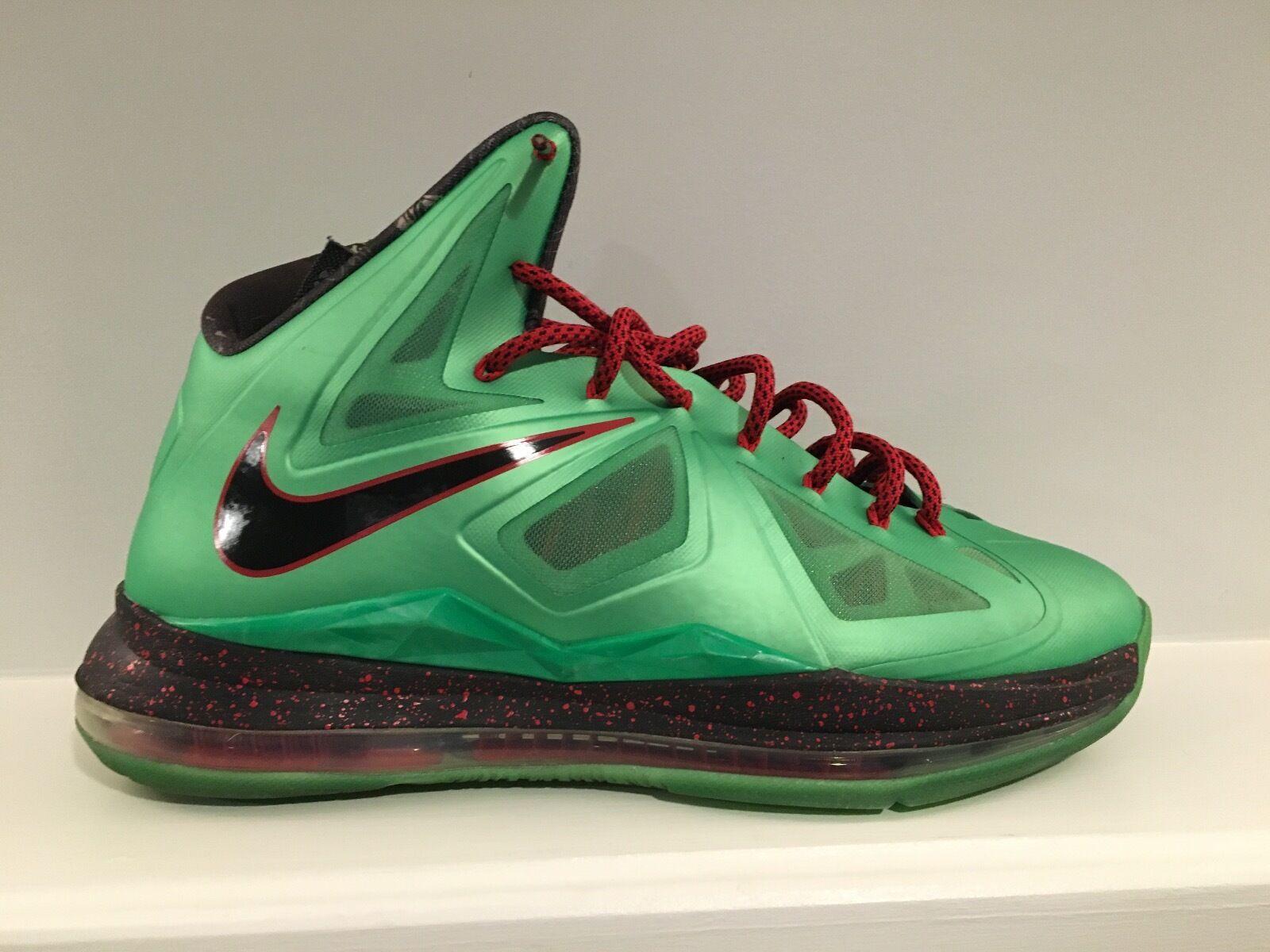 Nike Nike Nike lebron 10 jade größe schneiden. a20737