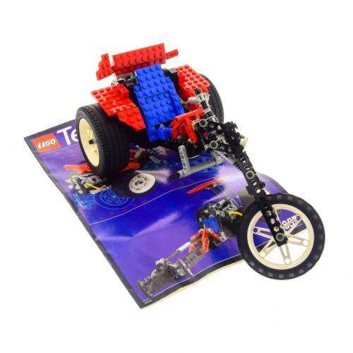 1x Lego Technic Set Modell 8857 Street Chopper Trike Motorrad unvollständig