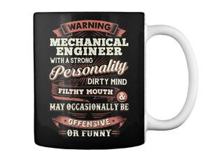 Custom Sarcastic Mechanical Engineer Gift Coffee Mug Gift Coffee Mug