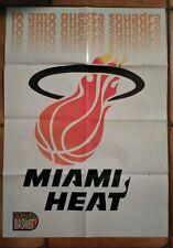 Doppio Poster fronte retro  MIAMI HEAT & PAT RILEY - NBA -  MAGIC BASKET