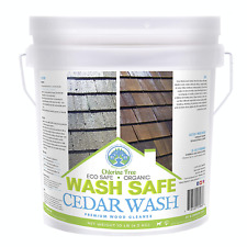Wash Safe Industries Cedar Wash Eco Safe And Organic Wood Cleaner 10 Lb Clear