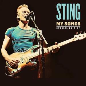 Sting-My-Songs-Includes-Live-Recordings-Disc-CD-Sent-Sameday
