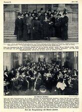 1915 * Strick-& Zigaretten-Stopf-Nachmittage der Wiener Gesellschaft *  WW1