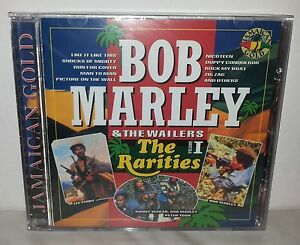 CD-BOB-MARLEY-amp-THE-WAILERS-RARITIES-VOL-1-SEALED-SIGILLATO