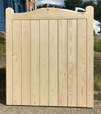 Elmhirst Cottage Style Timber Garden Curved Top Gate