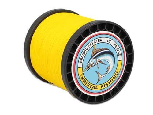 Zopf SPECTRA SPECTRA SPECTRA KRISTAL FISHING 80Lb 1000YARD 914 MT gelb Spectra Zopf gelb 002b96