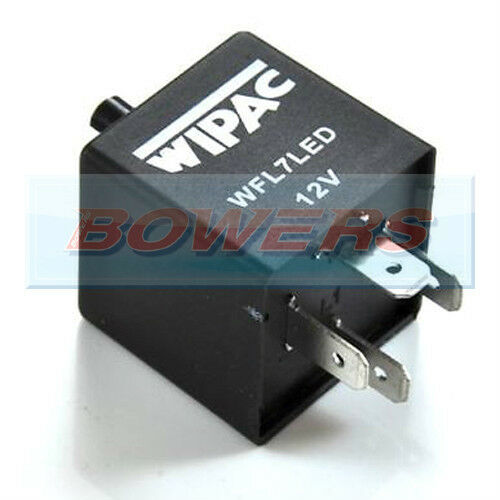 For Land Rover Defender 90 Adjustable Indicator Flasher Relay 4-Pin LED Flash