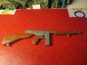 Details about Twelve Inch G I  Joe Accessories - WWII Submachine Gun