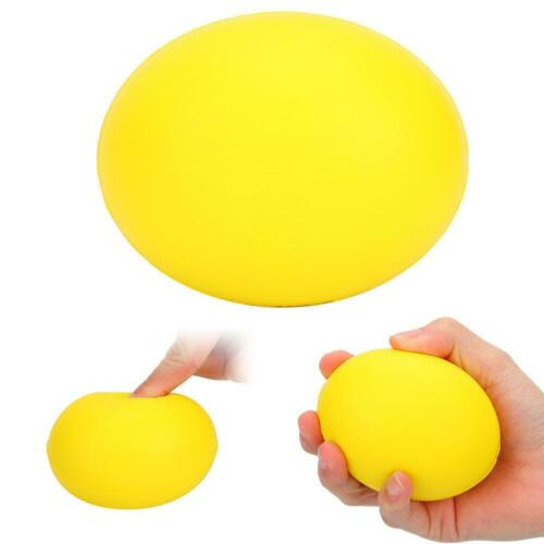 Silicone Massage Therapy Grip Ball Hand Wrist Finger Strength-Exercise Stress MR