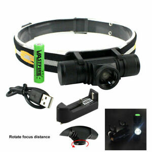 Super-Bright-Headlamp-Headlight-LED-Camping-Torch-USB-Rechargeable-18650-2000Lm