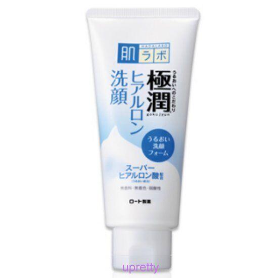 Rohto Hadalabo Gokujyun Hyaluronic Face Wash Foam 100g Free shipping