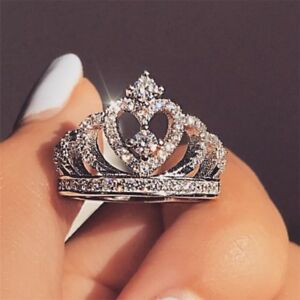 Romantic-Crown-Crown-Zircon-Heart-Crystal-Bridal-Wedding-Ring-Jewelry-Band-Gift