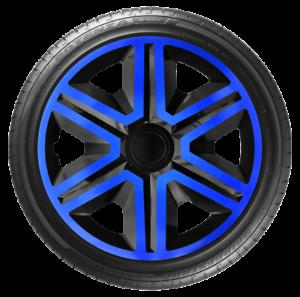 """AKTNBlue 4x Wheel Covers Hub Caps 14Inch Universal Wheel Trims ABS 14/"""" Trim"""