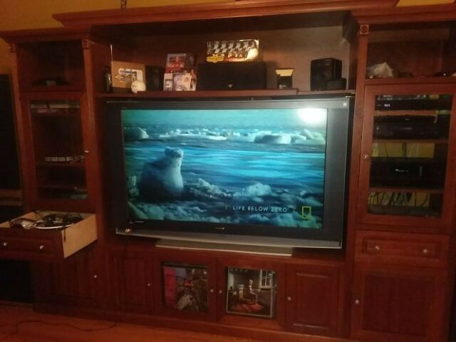 Toshiba 61a60 61 Rear Projection Television For Sale Online Ebay