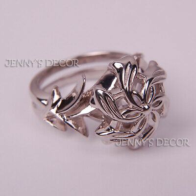 Lord Of The Rings Jewelry Nenya Galadriel Ring 925