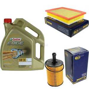 Inspection-Kit-Filter-Castrol-5L-Oil-5W30-For-VW-Sharan-7M8-7M9-7M6-1-9-Tdi