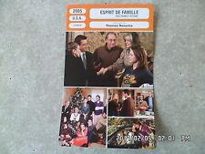 CARTE FICHE CINEMA 2005 ESPRIT DE FAMILLE Sarah Jessica Parker Claire Danes