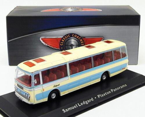 PLAXTON PANORAMA SAMUEL LEDGARD CREAM 4642109 Atlas bus 1:72 New in a box!