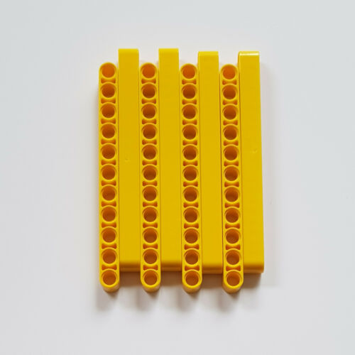 8x Lego Technic Liftarme 1 x 11 Large Jaune 32525 technique 1x11 4174709 4534912