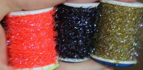 Fly Tying Semperfli Straggle String Micro Chenille 18 colours