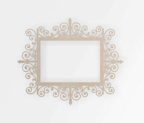 Wooden Decorative Frame Home Decor,Wall Hanging Wall Decor Wall Art Cut Out