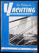 BATEAUX VOILES PLAISANCE LES CAHIERS DU YACHTING N° 102 de 1960 PLAN  LES 4 VENT